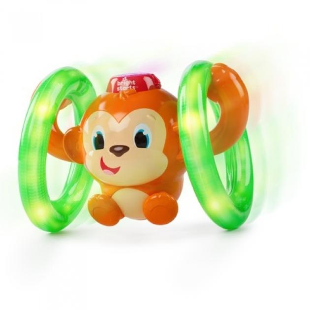 Развивающая игрушка Bright Starts Обезьянка на кольцах 52181