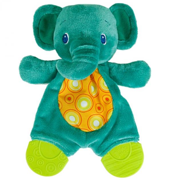 Прорезыватель для зубок Bright Starts  мягкий, Слонёнок  8916-2