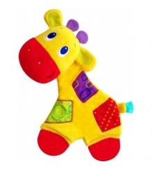 Прорезыватель для зубок мягкий Bright Starts Самый мягкий друг , Жираф 8916-3...