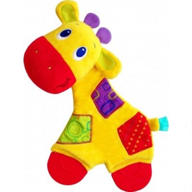 Прорезыватель для зубок мягкий Bright Starts Самый мягкий друг , Жираф 8916-3