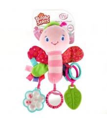 Развивающая игрушка Bright Starts -подвеска Bright Starts Розовая стрекоза 9182