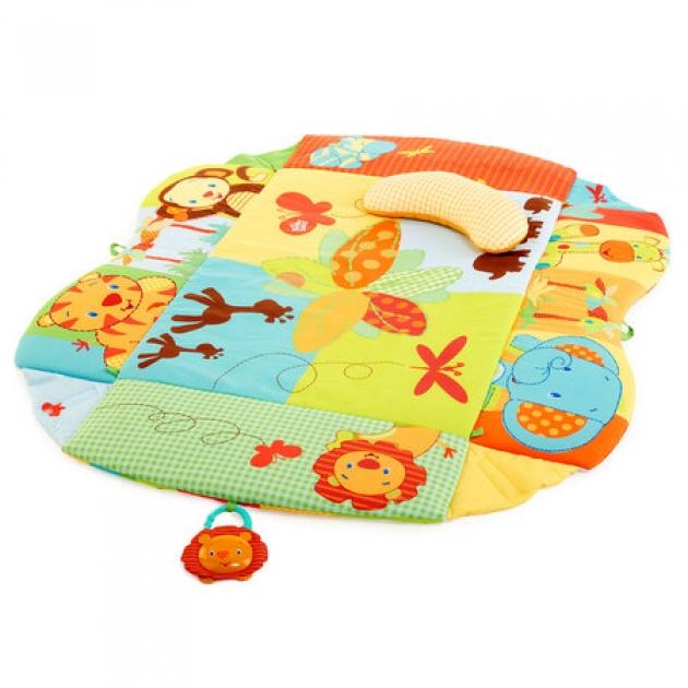 Развивающий коврик Bright Starts Тропическая саванна 9219