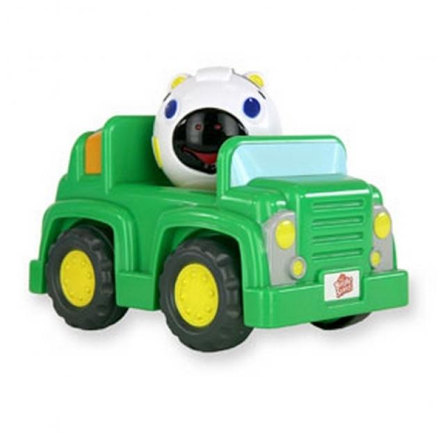 Развивающая игрушка Bright Starts Нажми, и поедет зебра 9172-4