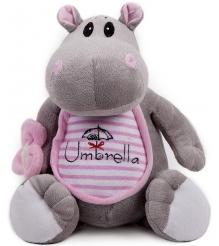 Мягкая игрушка Button Blue Бегемотик с зонтиком 21 см 40 11 0201...
