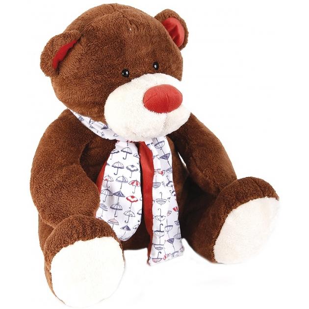 Мягкая игрушка Button Blue Медвежонок Тимоша коричневый 43 см 42 120169