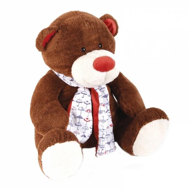 Мягкая игрушка медвежонок тимоша коричневый 28 см 42 120168