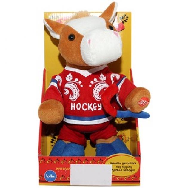 Мягкая игрушка лошадка хоккеист 28 см 43 4182