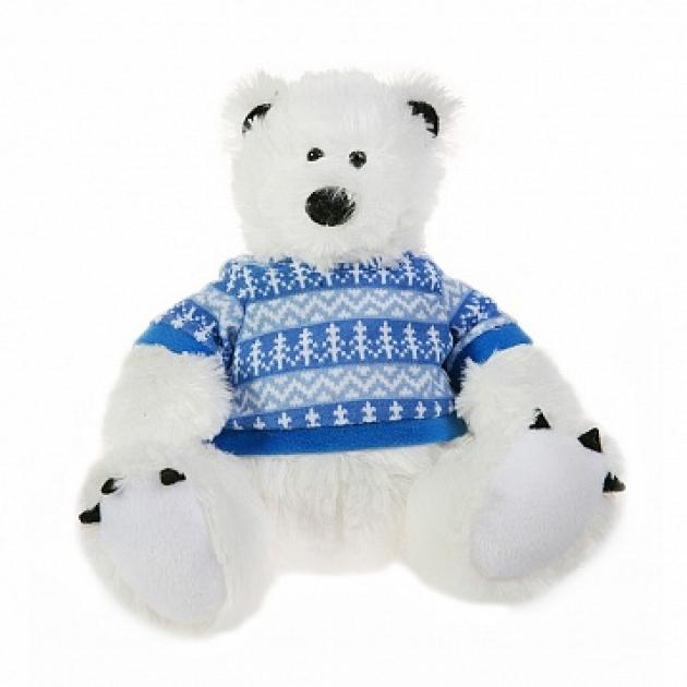 Мягкая игрушка мишка полярник 19 см 42 120375 1
