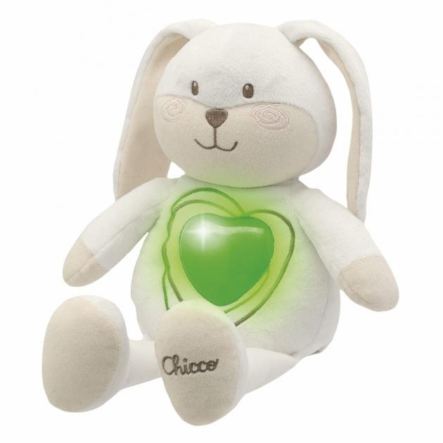 Мягкая развивающая игрушка Chicco Зайчонок Sweetheart 2729