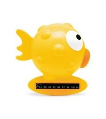 Термометр для воды Chicco Рыба-Шар желтый