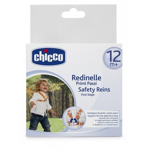 Поводок детский Chicco Safe для первых шагов на прогулке от 12мес