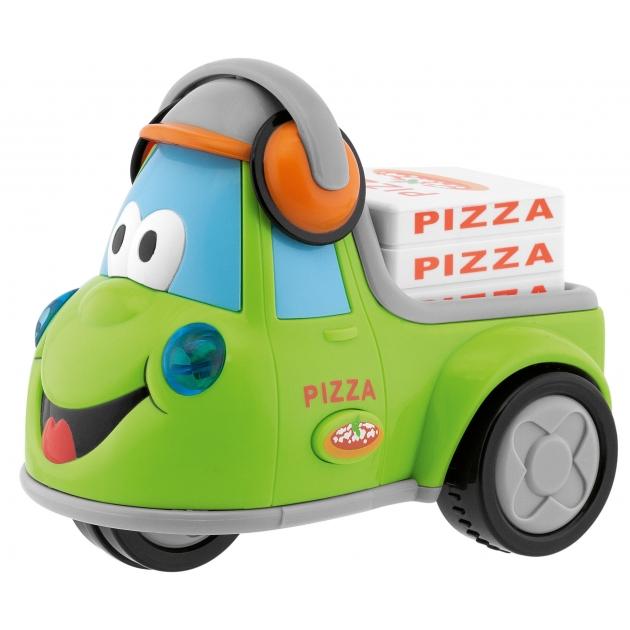 Весёлый грузовичок Chicco Развозчик пиццы 69006