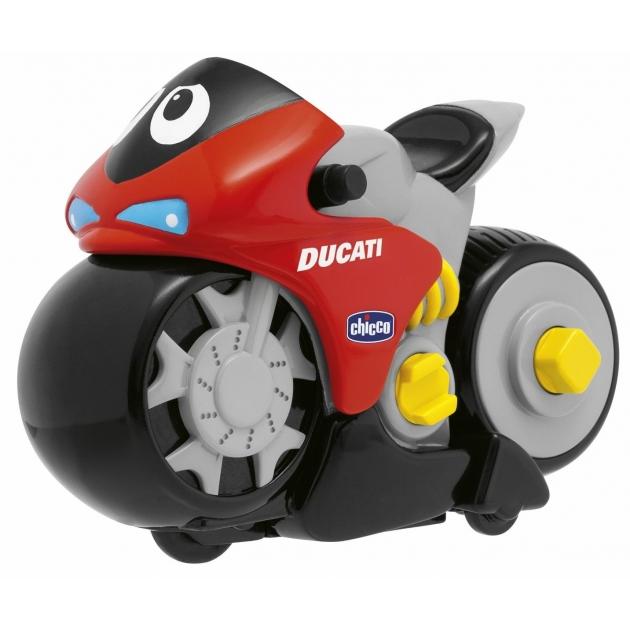 Игрушка Мотоцикл Chicco Ducati Turbo Touch со сменной панелью 69021