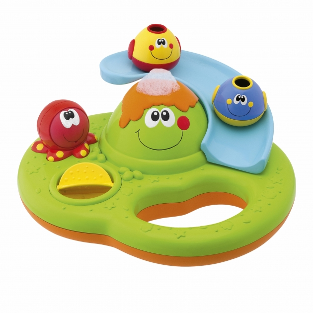 Игрушка для купания Chicco Остров пузырьков 70106