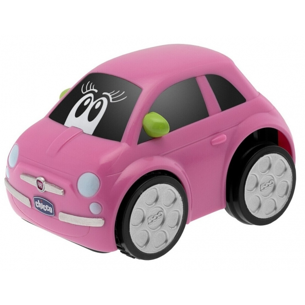 Игрушка машинка Chicco Turbo Touch Fiat 500 Pink 73311