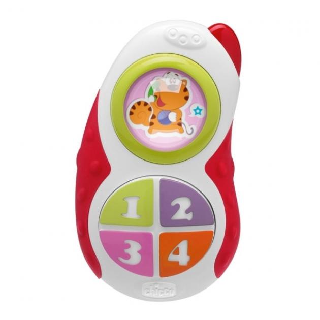 Игрушка музыкальная Chicco Детский телефончик 05183
