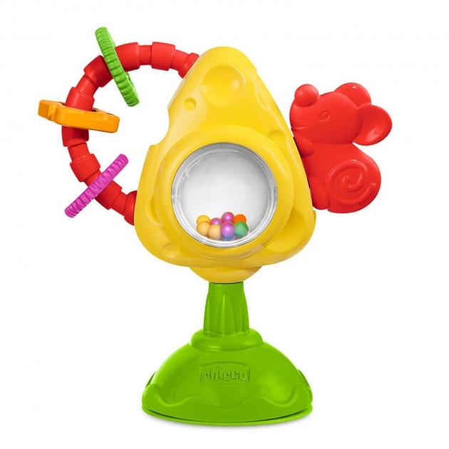 Игрушка для стульчика Chicco Мышка с сыром и крекерами 5832