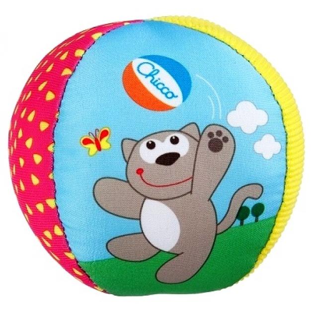 Развивающий мяч Chicco Мягкий мячик 5835