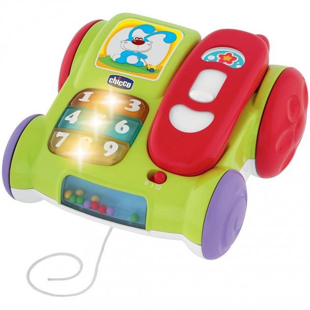 Музыкальная игрушка Chicco телефон Динь-динь 5184