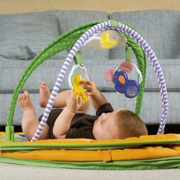 Развивающий коврик Chicco Игровой коврик 4 в 1