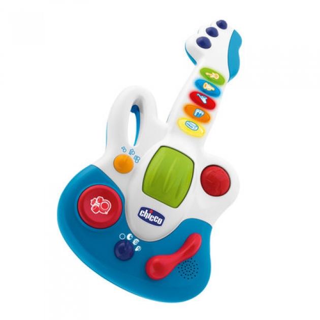 Игрушка музыкальные инструменты Гитара Chicco Ди-Джей 60068