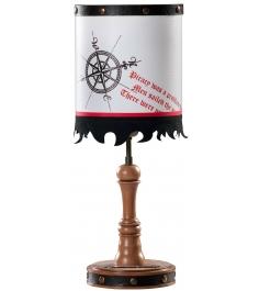 Детская настольная лампа Cilek Black Pirate 21.10....