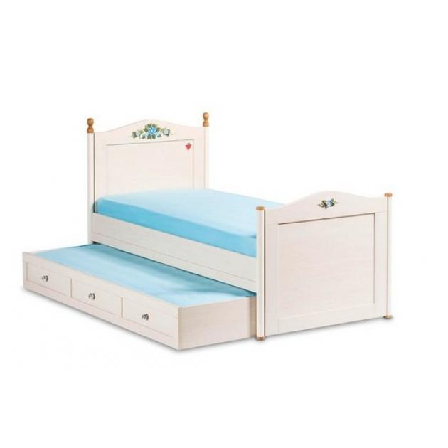 Подростковая кровать для девочки Cilek Flora Single 20.01.1301.01