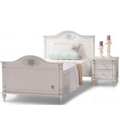 Подростковая кровать для девочки Cilek Romantic Single 20.21.1301.00...