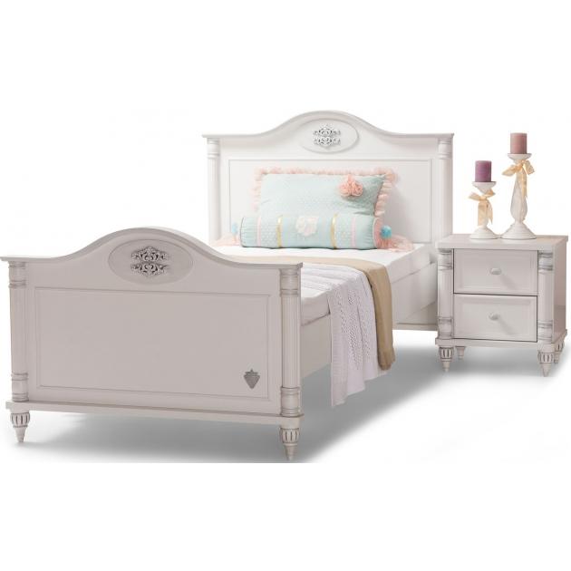 Подростковая кровать для девочки Cilek Romantic Single 20.21.1301.00