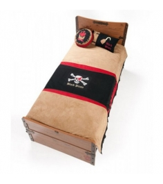 Комплект детского постельного белья Cilek Black Pirate Hook 21.04.4479.00...
