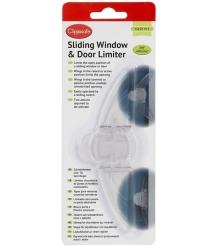 Защитный замок для раздвижных окон и дверей Clippasafe CL83/2