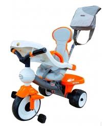 Детский трехколесный велосипед Coloma Comfort Angel с игровой панелью 4698