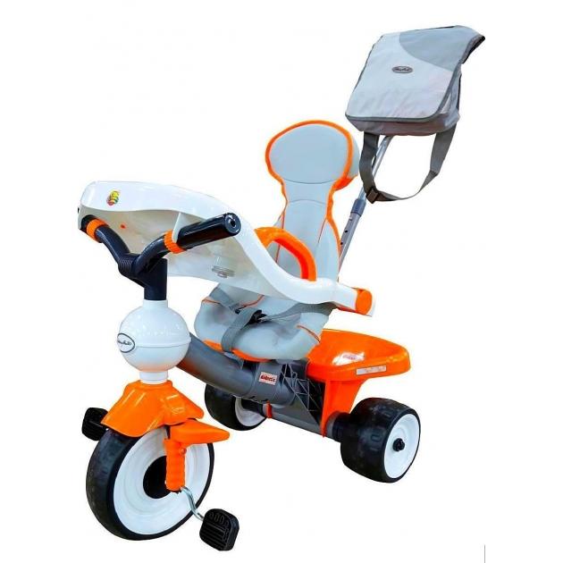 Детский трехколесный велосипед Coloma Comfort Angel с игровой панелью 46581