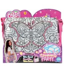 Детская сумка раскраска Color Me Mine Алмазный блеск и 5 маркеров 6372206...