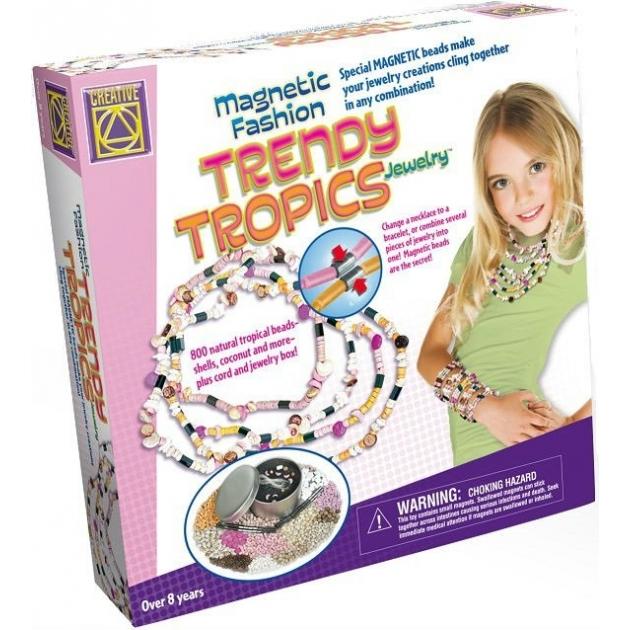 Набор для творчества Creative Модные магниты Стильные тропики 5511