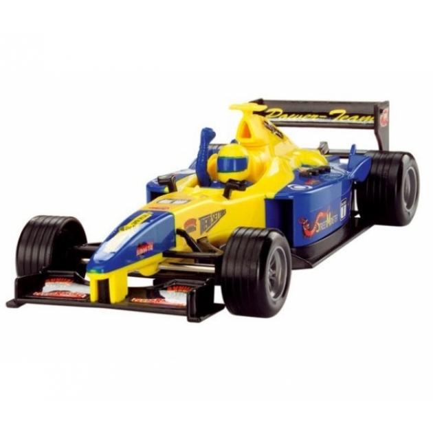 Детская гоночная машинка Dickie Formula Car желтая 3313762