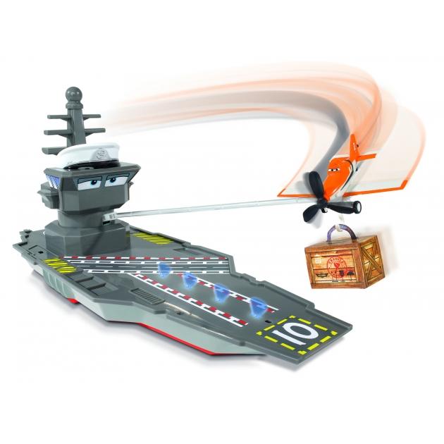 Игрушки из мультфильма Самолеты Dickie Летная станция с самолетом Дасти на управлении 3089802