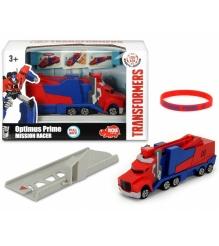 Трансформеры Dickie машинка Optimus Prime с запуском и браслет 3112003...