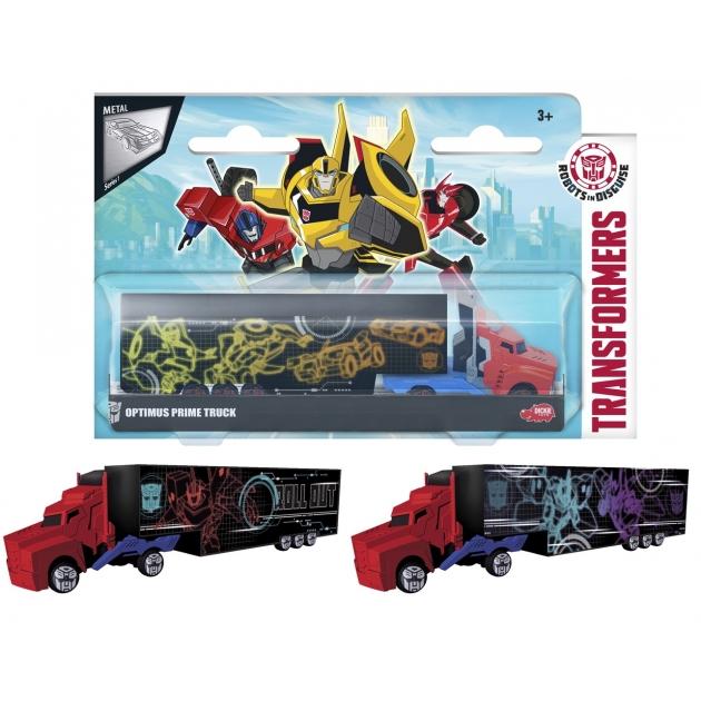 Трансформеры Dickie Трейлер Optimus Prime 3113006