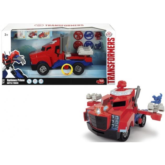 Трансформер Dickie Боевой трейлер Optimus Prime 3116003
