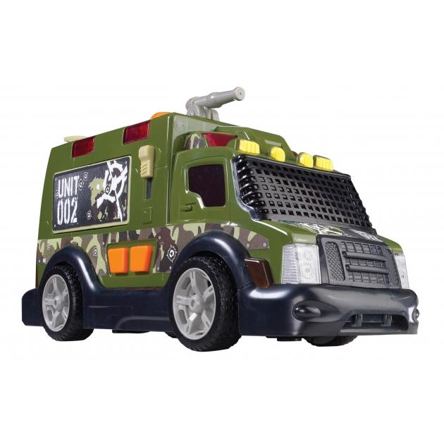 Военный автомобиль Dickie 33 см со световыми и звуковыми эффектами 3308364