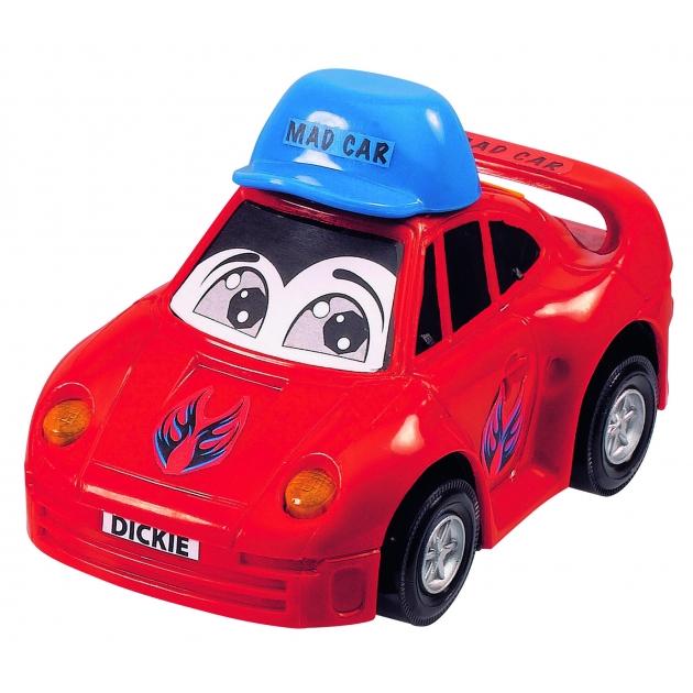 Детская веселая машинка Dickie 12 см красная 3313007