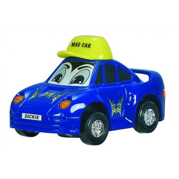 Детская веселая машинка Dickie 12 см синяя 3313007