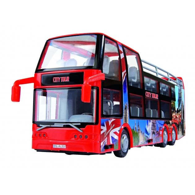 Туристический автобус Dickie красный 29 см 3314322