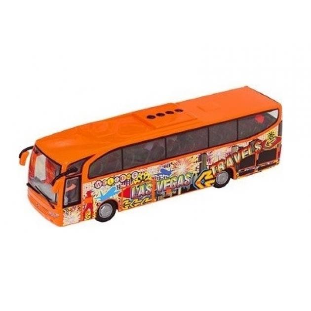 Автобус Dickie Euro Traveller оранжевый 27 см 3314826