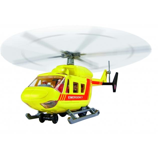 Игрушка вертолет Dickie Air Rescue 26 см инерционный желтый 3564966