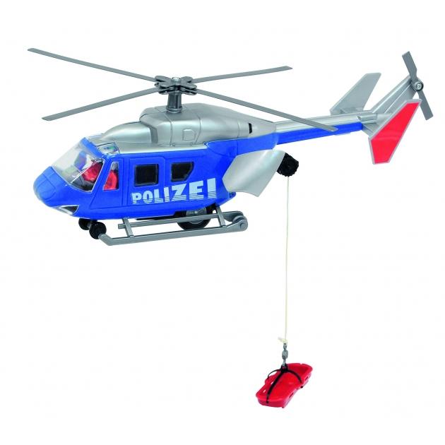 Вертолет полицейский Dickie Air Rescue 26 см инерционный синий 3564966