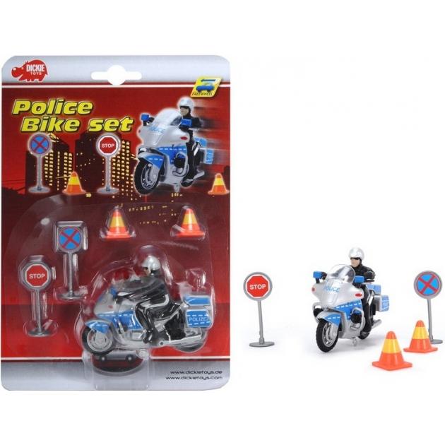 Игровой набор Dickie Полицейская машина 3315391