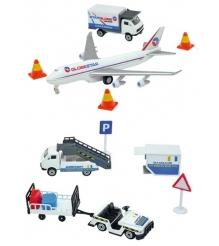 Большой игровой набор Dickie Аэропорт с 13 предметами 3315465