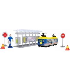 Игровой набор Dickie Трамвайная остановка 3343001...